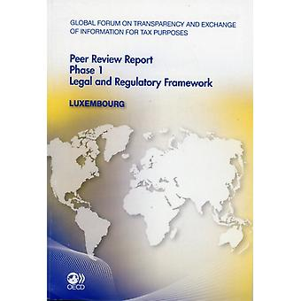 Luxembourg 2011  Phase 1 by Global Forum on Transparency and Exchange of Information for Tax Purposes