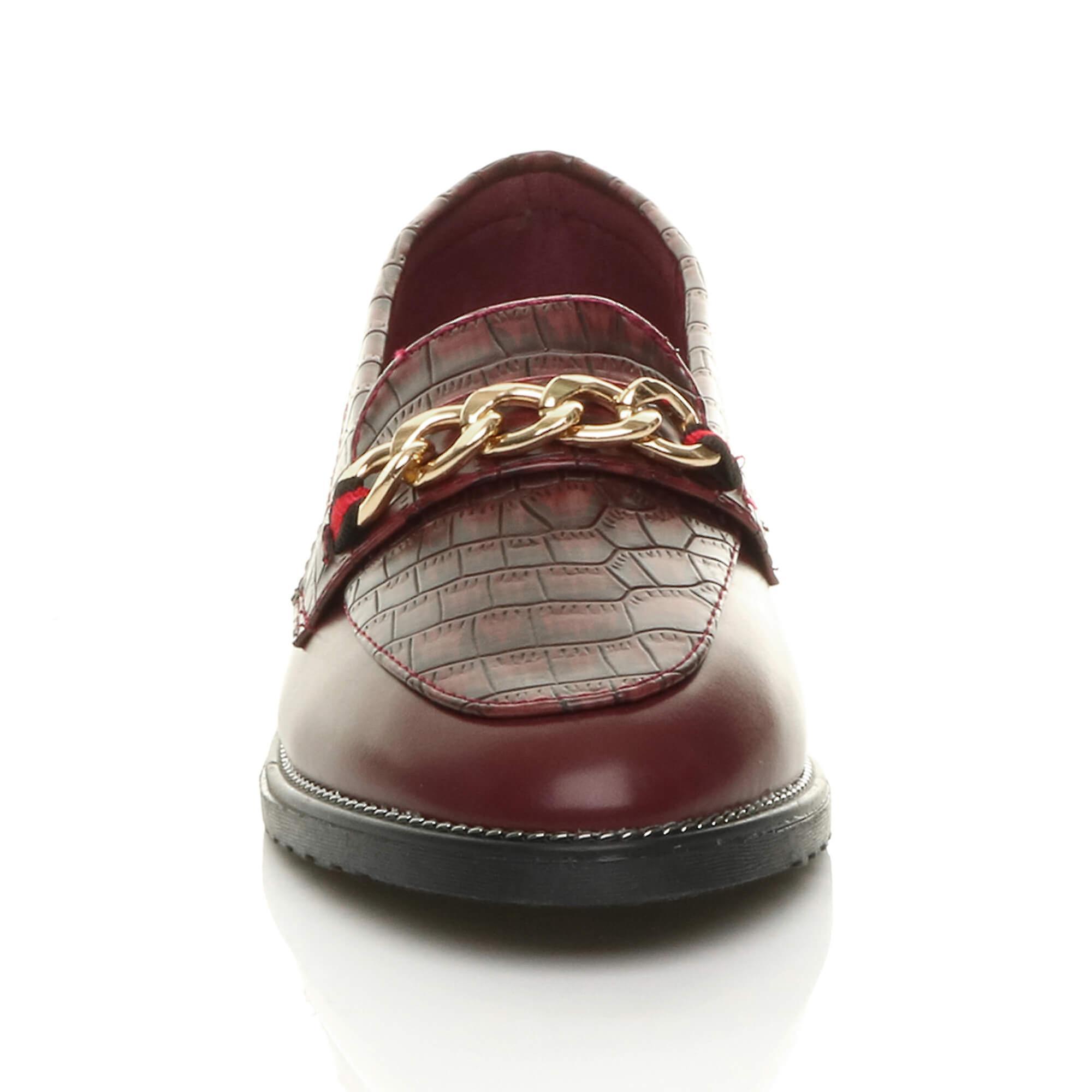 Ajvani Womens Flat Low Heel Slip On Smart Casual Loafers Work Shoes