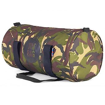 JIMBAG Camouflage Barrel Sports Fitness Gym Overnight Travel Bag