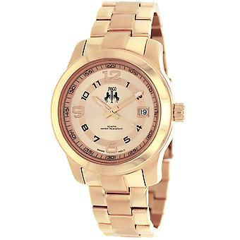 Jivago Women's Infinity Rose Gold dial watch - JV5214