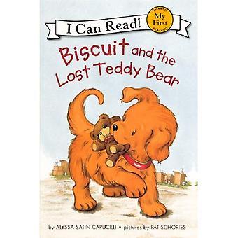 Biscoito e o ursinho perdido (pode ler livros: meu primeiro compartilhada leitura