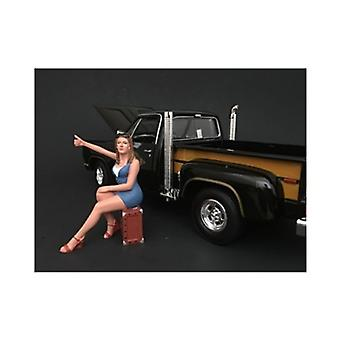 70\'S Style Figure Vi For 1:24 Scale Models Par American Diorama