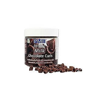 PME Chocolate Curls - Milk