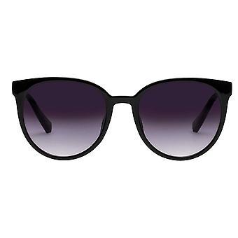 Le Specs Armada Black Cat Eye Sunglasses