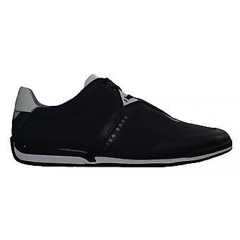 Hugo Boss Footwear Hugo Boss Men's Dark Blue Saturn _ Lowp _ Tech2 Trainers