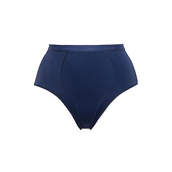 Sans Complexe 1537-GAH Kobiety's Perfect Lift Marine Blue Highwaist Brief