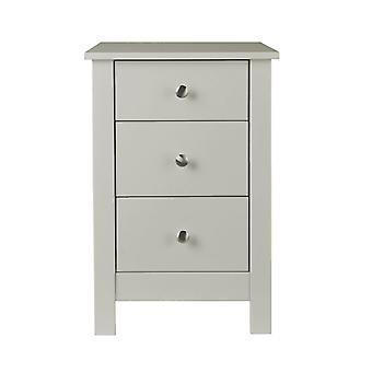Hailey 3 Drawer Bedside Chest