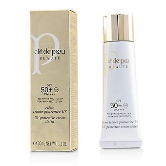 Cle de Peau creme protetor UV matizado SPF 50-Pink-30ml/1.1 oz