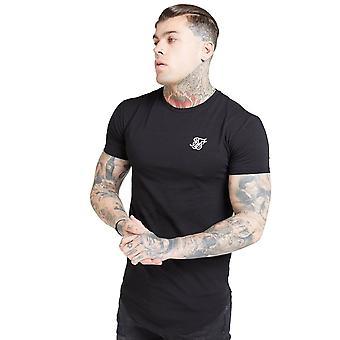 Sik Seide Ss-15816 Kurzarm Core Gym T-shirt - schwarz