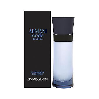 Armani código colonia por giorgio armani para homens 2,5 oz eau de toilette spray