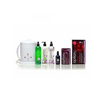 Hive av skönhet mini vax värmare 0,5 liters original hot film depilatory vaxning kit