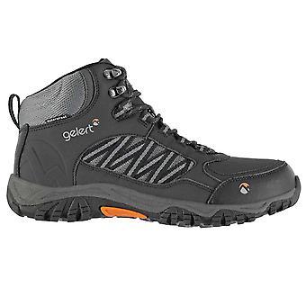 Gelert Mens Horizon waterdicht medio lopen laarzen Lace-Up schoenen buiten Mesh