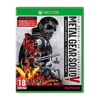 Metal Gear Solid V The Definitive Experience Xbox One Game