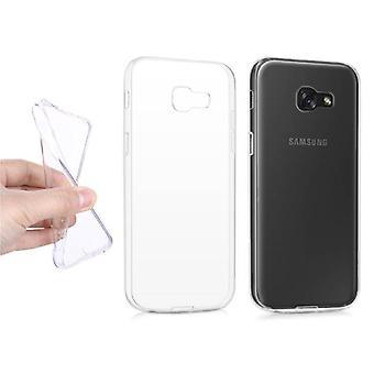 Stoff zertifiziert® Transparent Clear Case Cover Silikon TPU Fall Samsung Galaxy A5 2015