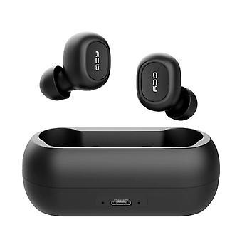 QCY QCY T1C Ασύρματη Bluetooth 5,0 ακουστικά ασύρματο Αεροθαλαμίσκους ακουστικών ακουστικά με μαύρο-διαυγές ήχο