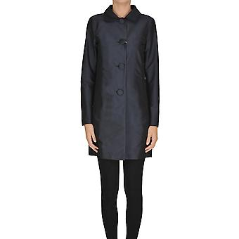 Herno Ezgl015032 Women's Blue Polyester Outerwear Jacket
