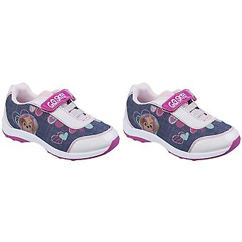 Leomil Childrens Girls Skye Touch Fastening Sport Paw Patrol Trainers
