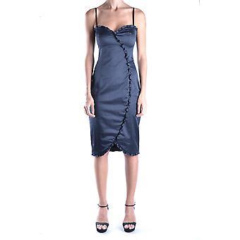Iceberg Ezbc188010 Women's Black Cotton Dress