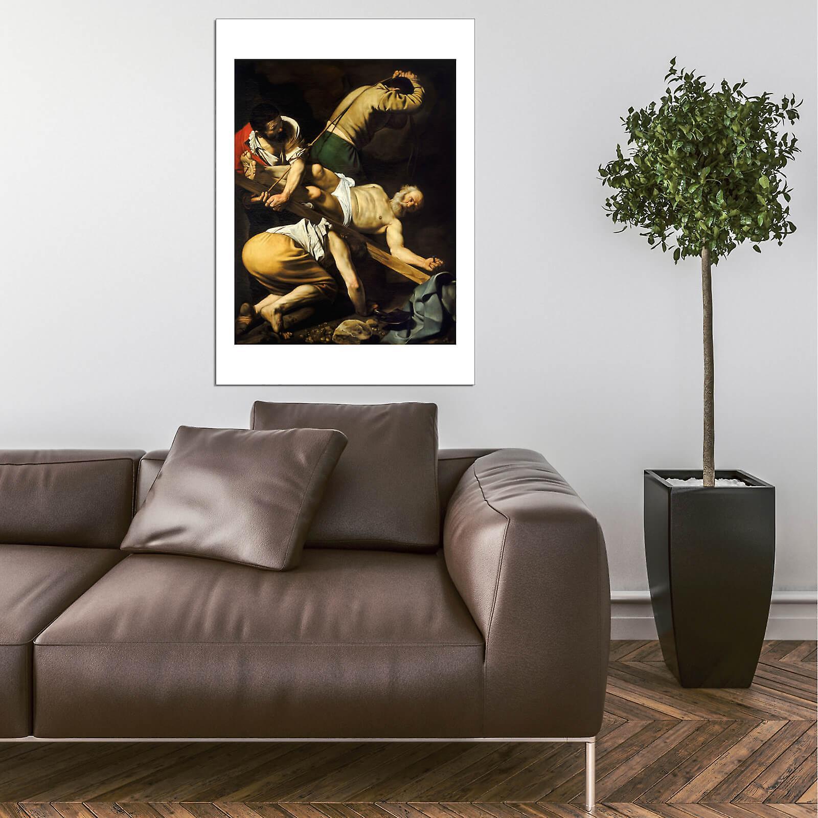Caravaggio The Crucifixion of Saint Peter Art Print//Poster