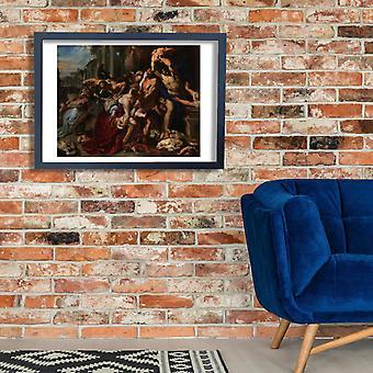 Peter Paul Rubens - Massacre of the Innocents Poster Print Giclee