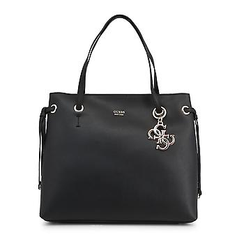 Guess Original Women Spring/Summer Shopping Bag - Black Color 39389