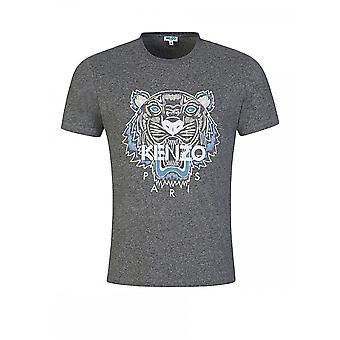 केंज़ो क्लासिक टाइगर ग्रे टी शर्ट