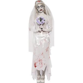 Zombie kostuum bruid vrouw Halloween