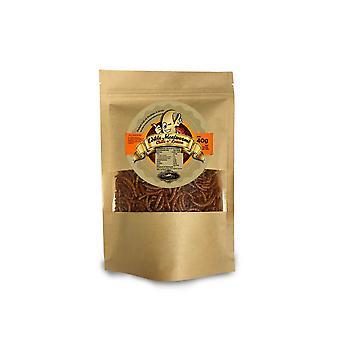 40 g chili- en citroensmaak eetbare meelwormen voor menselijke consumptie