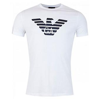 Armani Centre Eagle Crew Neck T-shirt