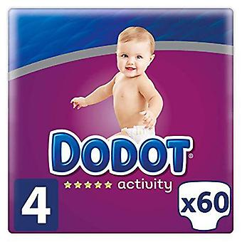 Dodot Activity Diaper Size 4 with 60 Units (Baby & Toddler , Diapering , Diapers)