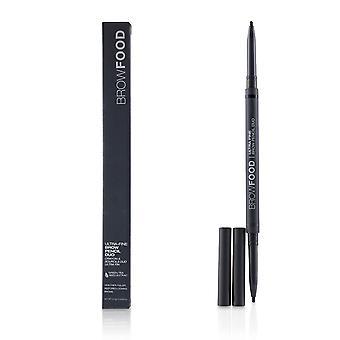 Brow food ultra fine brow pencil duo   # charcoal 0.10g/0.0035oz