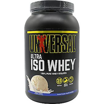 Universal Nutrition Ultra Iso Whey Supplement - 30 Servings - Vanilla Shake