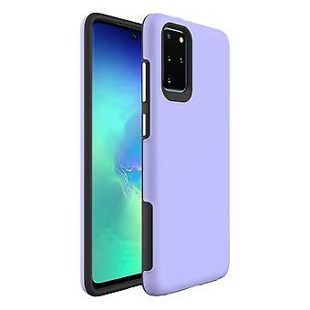 Para Samsung Galaxy S20+ Plus Caso A prueba de golpes Cubierta protectora púrpura