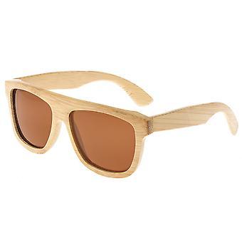 Earth Wood Imperial Polarized Sunglasses - Khaki/Brown