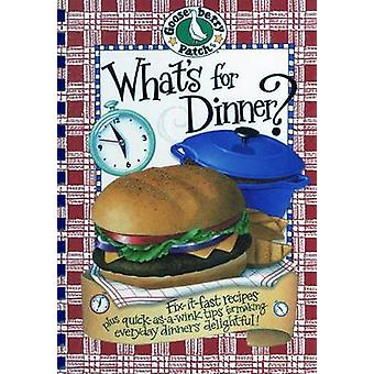 What's for Dinner? Cookbook by Gooseberry Patch - 9781931890526 Book