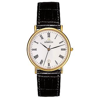 Michel Herbelin 12443-P01 Men's Dress Wristwatch