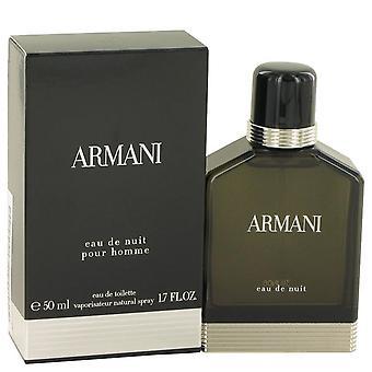 Armani Eau De Nuit Eau De Toilette Spray Door Giorgio Armani 1.7 oz Eau De Toilette Spray