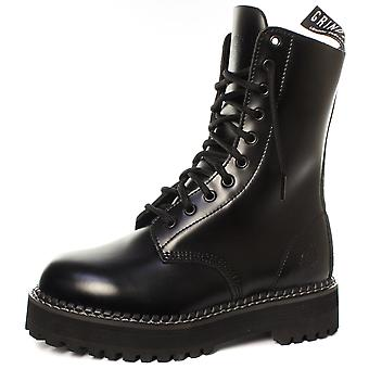 Grinders Taylor CS Black Womens Non Steel Toe Derby Boots