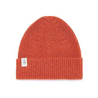 Samsoe & Samsoe Flint Orange Beanie Hat