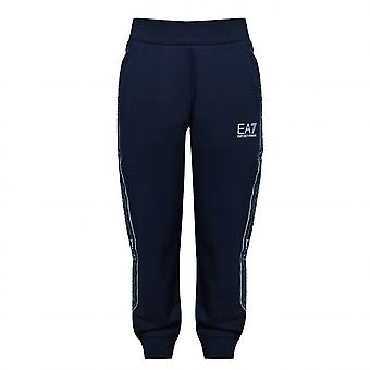 EA7 Boys EA7 Boy's Navy Blue Jogging Bottoms