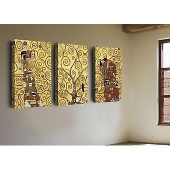Inspiracje malarskie D'Wielobarwny kolor autor w poliester, MDF 135x3x60 cm