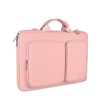 Pink water resistant laptop case