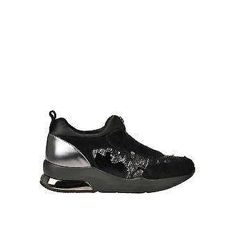 Liu Jo Ezgl060073 Women's Black Sequins Sneakers