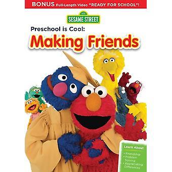 Sesame Street - Preschool Is Cool: Making Friends [DVD] USA import
