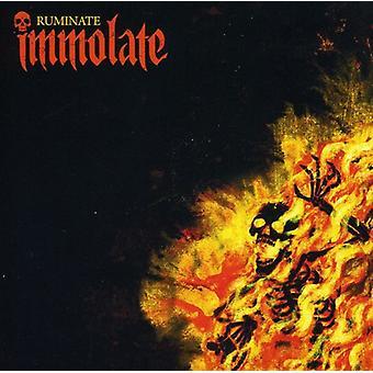 Immolate - Ruminate [CD] USA import