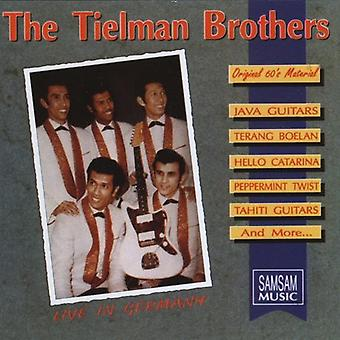 Tielman Brothers - Live in Germany [CD] USA import