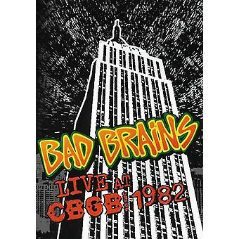 Bad Brains - importation USA Live CBGB ' s 1982 [DVD]