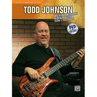 The Todd Johnson Walking Bass Line Module System Vol 1  Triad Modules Book amp DVD by Todd Johnson