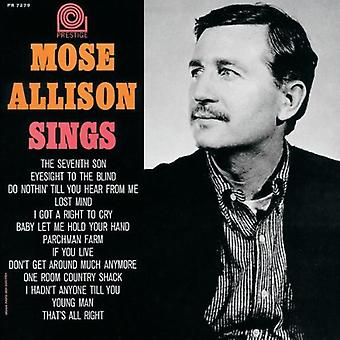 Mose Allison - Mose Allison Sings [CD] USA import