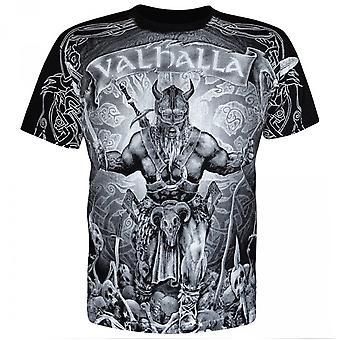 Aquila - viking warlord - mens t-shirt